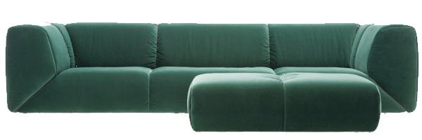 Sohva Alabama kankaalla