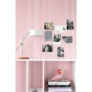 mimou tapet dot pink