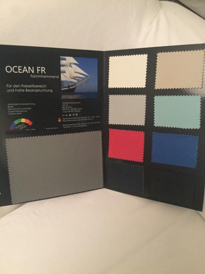 Ocean FR värit